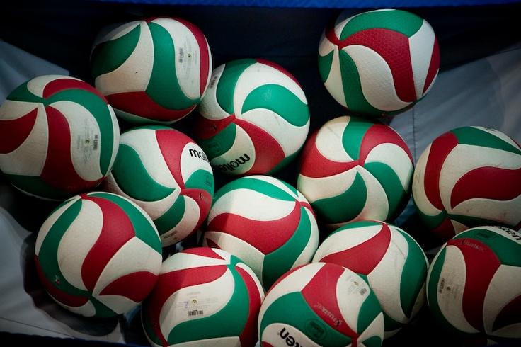 i colori nella cesta RoSSoBiAnCoVerDe #volley