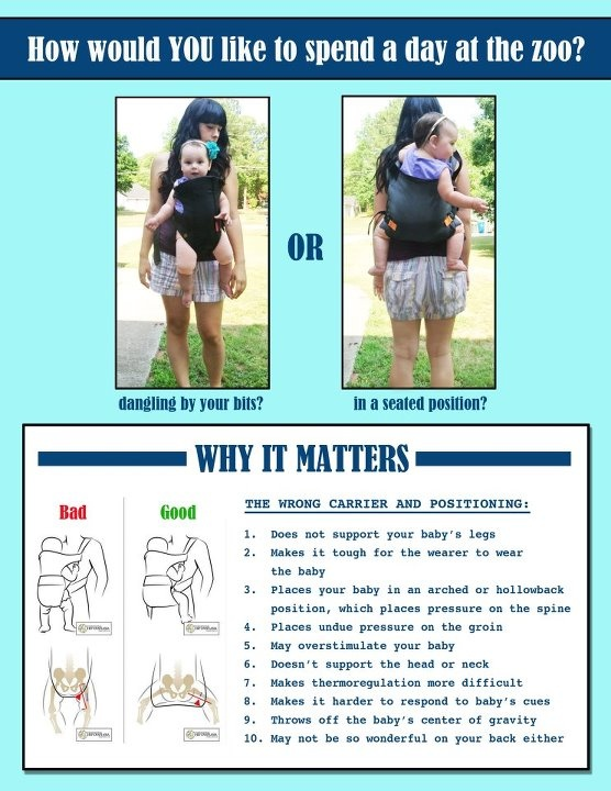 How To Properly Wear A Baby Young Child Really Hope People Take