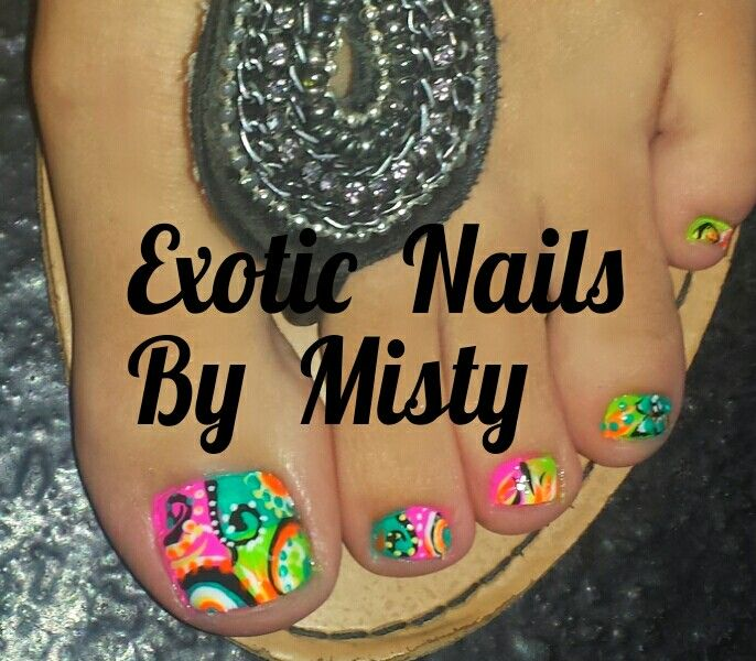 Hand Painted Nail Art Designs: Top 297 Ideas About Exotic Nails Hand Painted Nail Art On