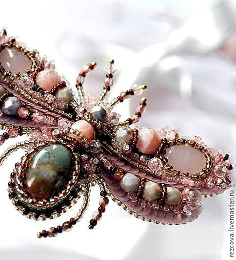 Brooch Bee Angelina MADE TO ORDER by RezcovaAgija on Etsy, $156.00