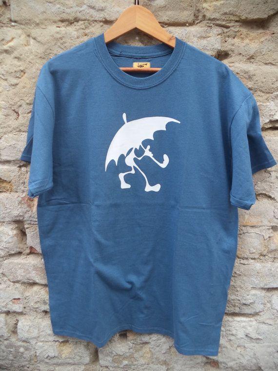 Rain man  sky blue short sleeve T-shirt