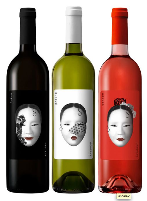 Lascala wine packaging