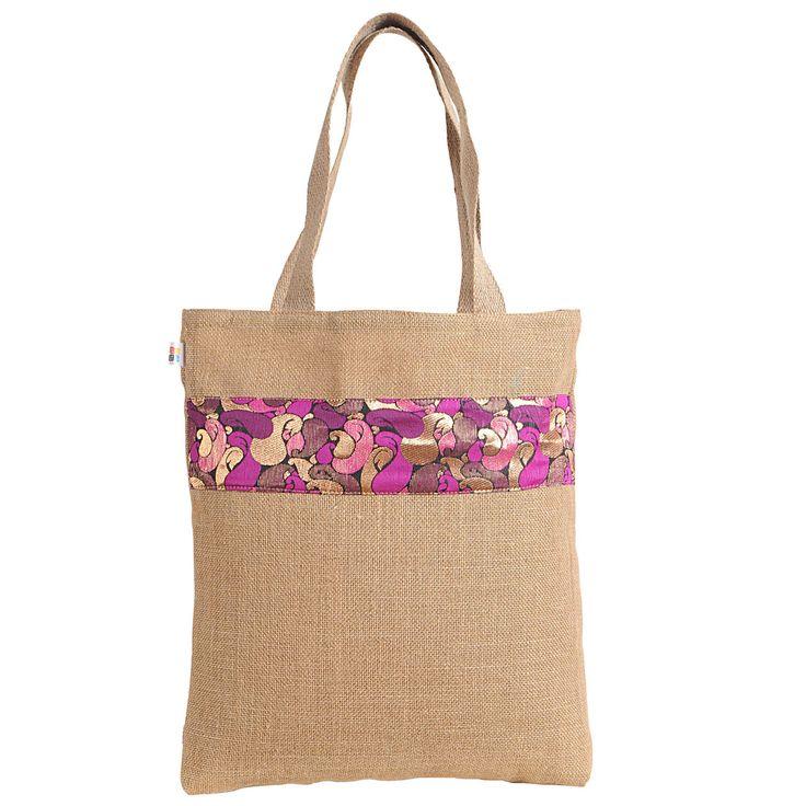 Fashion jute tote bags,jute handbags,jute bags online shopping