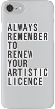 LICENCE RENEWAL iPhone 7 Cases