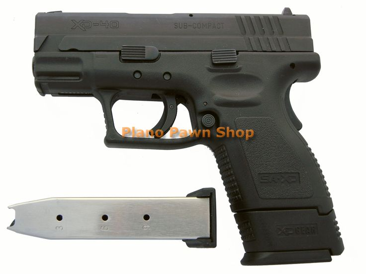 Plano Pawn Shop  - Springfield XD SubCompact .40SW with 2 Mags, $449.00 (http://www.planopawnshop.net/springfield-xd-subcompact-40sw-with-2-mags/)