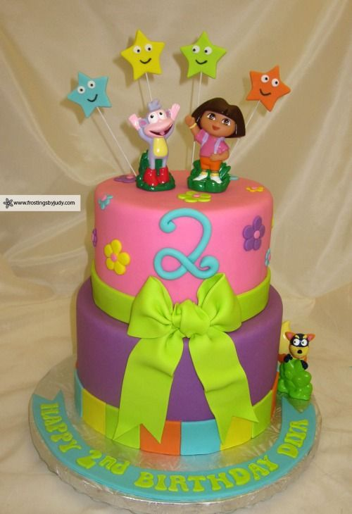 dora cake. Cheryl, this cake will be perfect for you!