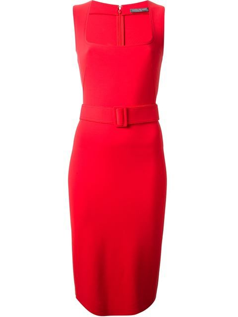 Compre Alexander McQueen Vestido vermelho em Jean Pierre Bua from the world's best independent boutiques at farfetch.com. Over 1000 designers from 60 boutiques in one website.