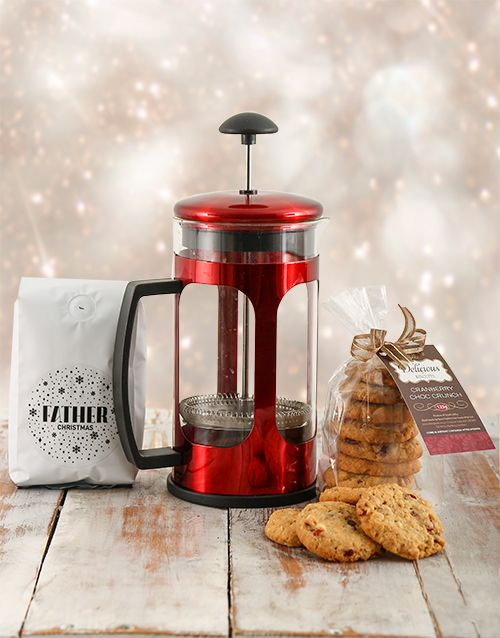 Buy Cookies and Coffee Christmas Gift Online - NetGifts