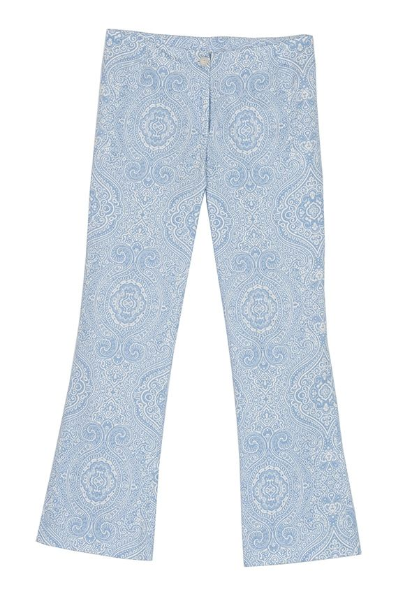 #QL2    MAGNOLIA PRINTED STRETCH COTTON PANT  ( the style is your way to live) #women's #fashion