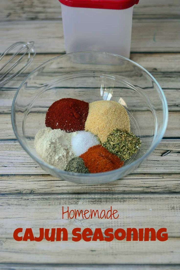 Homemade Cajun Seasoning from Growing Up Gabel is an easy spice mix made with common spices found in most pantries! Kick up your food a notch!