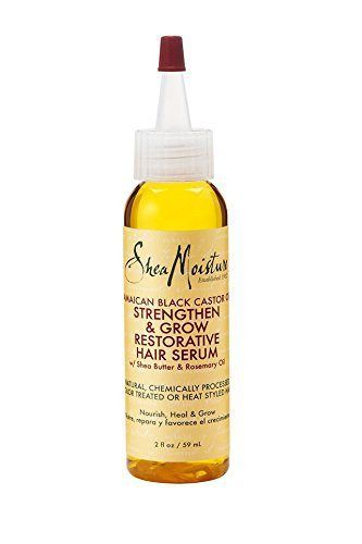 Shea Moisture Jamaican Black Castor Oil Strengthen, Grow & Restorative Hair Serum 2oz - http://essential-organic.com/shea-moisture-jamaican-black-castor-oil-strengthen-grow-restorative-hair-serum-2oz/