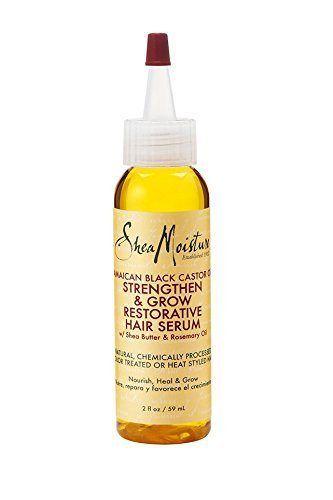 Shea Moisture Jamaican Black Castor Oil Strengthen, Grow & Restorative Hair Serum 2oz - http://essential-organic.com/shea-moisture-jamaican-black-castor-oil-strengthen-grow-restorative-hair-serum-2oz/