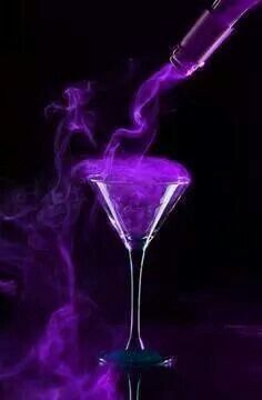 Hot purple drink                                                       …