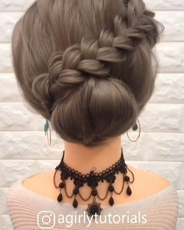 Beautiful Hairstyle Beautiful Hairstyle In 2020 Hair Up Styles Bun Hairstyles For Long Hair Long Hair Styles