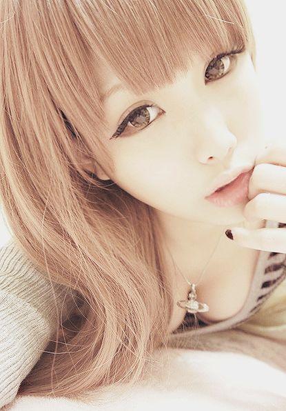 Japanese Makeup Inspiration Gyaru Kitti Tumblr