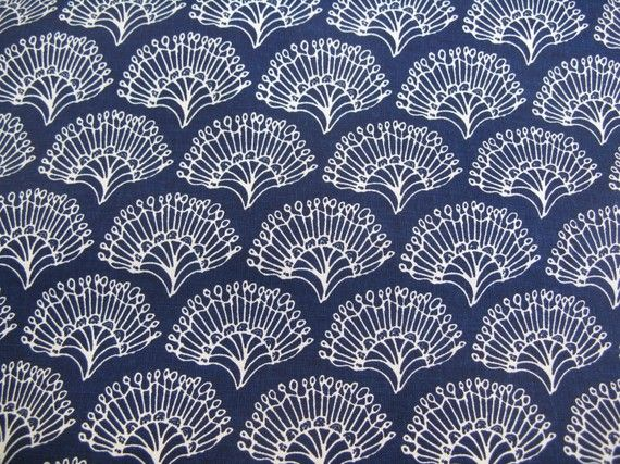umbrella prints FanFlowers in Kyoto Blue