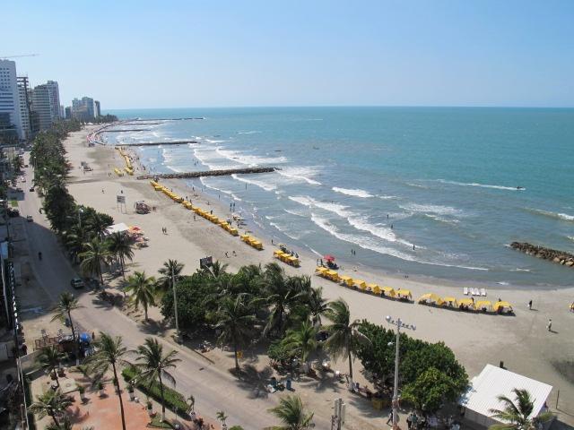 Playas de Cartagena de Indias, Colombia