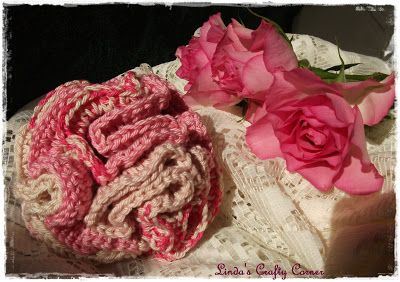 Crochet Hair Scrunchie : Crochet hair scrunchie, free pattern from Linda?s Crafty Corner ...
