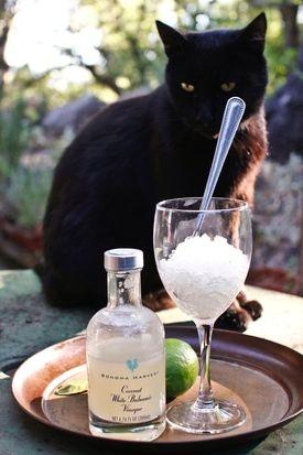 Coconut and Kaffir Lime Balsamic Granita | Recipe