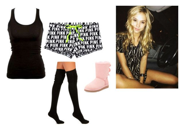 """""""ootn -lacey"""" by second-starr-to-the-right ❤ liked on Polyvore featuring UGG Australia"""
