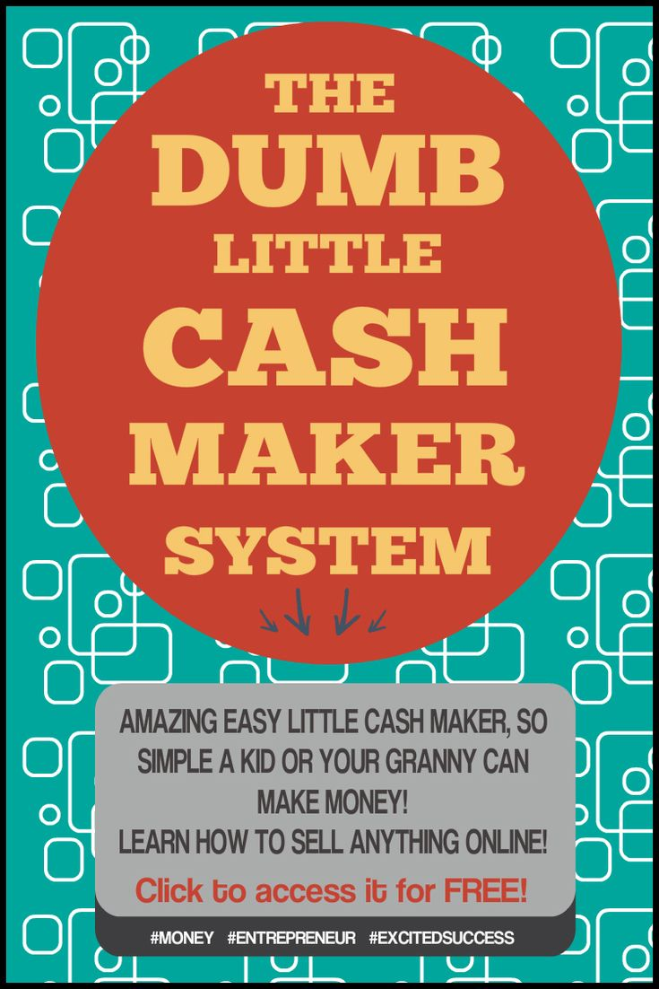 Want a simple easy little cash maker that will teach you