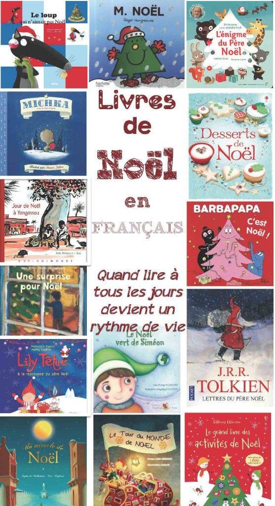 Livres pour Noël - Quand la lecture au quotidien devient un rythme de vie...
