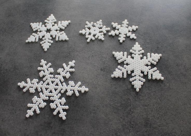 Hama snowflakes