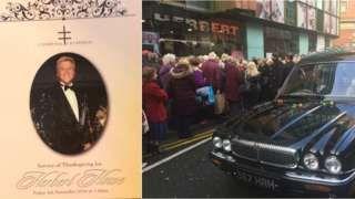 Herbert Howe: Liverpool funeral held for 'King of Bling' hairdresser