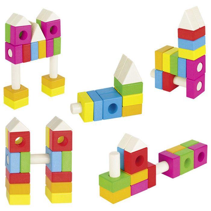 KLOCKI KONSTRUKCYJNE  - zabawki kreatywne dla chłopców i dziewczynek