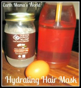 Natural Hydrating Hair Mask