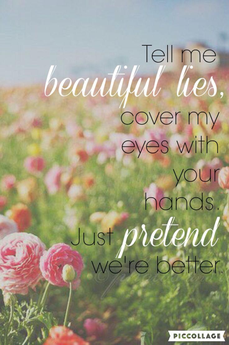 Beautiful Lies by Birdy- lyrics