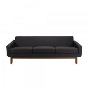 Charcoal Sophie 3 Seater Sofa