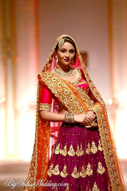 Preeti Sa Kapoor bridal lehenga