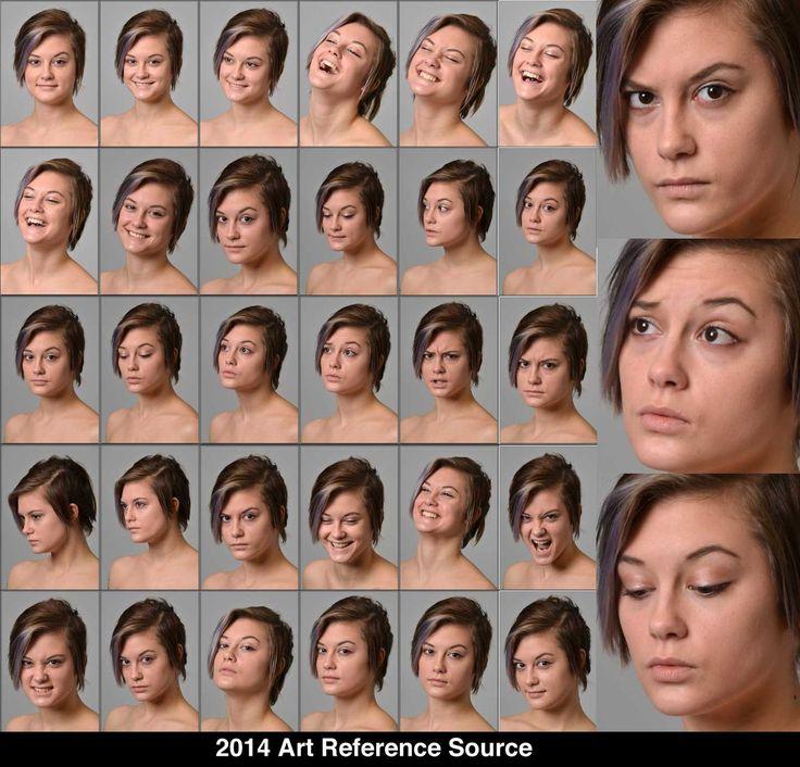 Facial body language tongue
