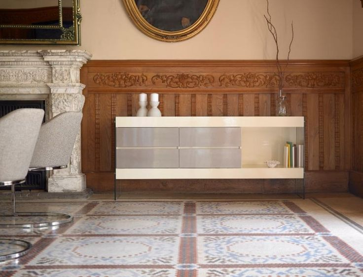 Contemporary Sideboard With 4 Soft Closing Doors, In A High Gloss Finish  #homedecor #