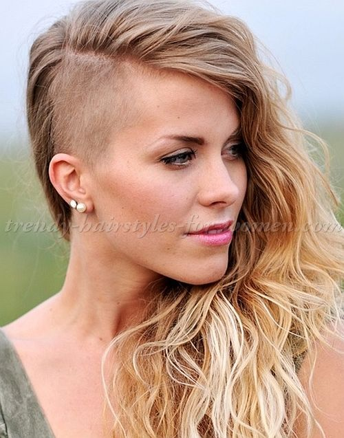 undercut hairstyle for long hair