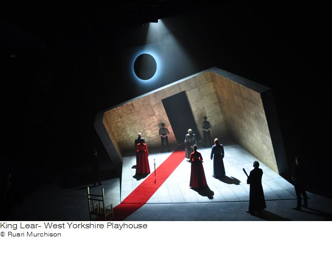 King Lear. West Yorkshire Playhouse. Design by Ruari Murchison.
