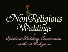 NonReligious Weddings Orange County Officiant E. J. Campfield. See numerous ceremonies to include within your wedding, as well as secular blessings and a nice selection of specialized vows for mid-life or seniors, or including children. A well-organized site.