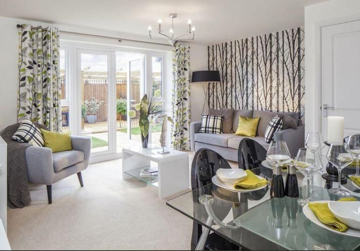 Barratt Homes Orchard Place Evesham Interior Designed Living Interior Design Show Homes