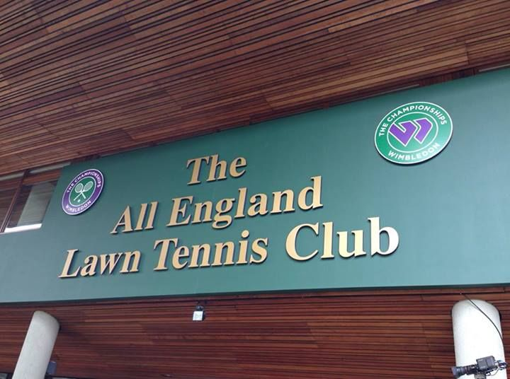 Wimbledon 2013! Guess who's going to see a match there this Sunday? ^_^