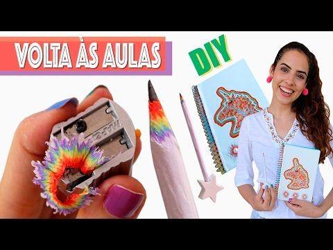 DIYs UNICÓRNIO: CARREGADOR, FONE DE OUVIDO, CAMISA, etc | Paula Stephânia - YouTube