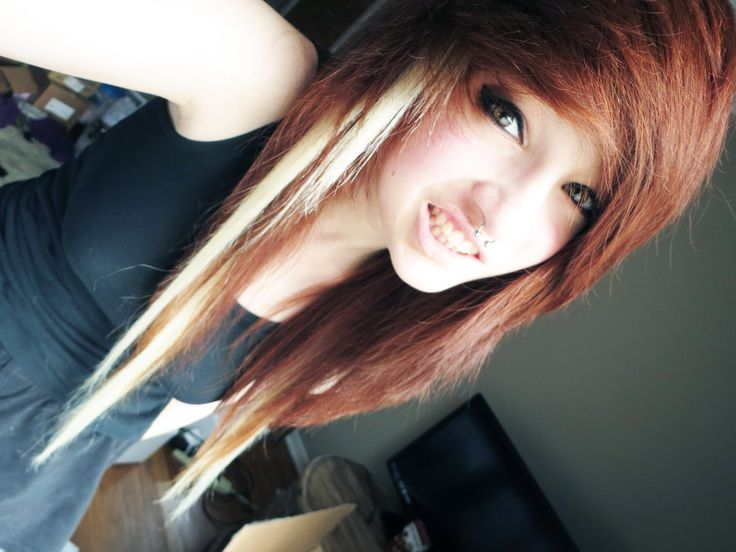 I've already gotten a emo haircut, but I actually loveeee this and wanna get it again.