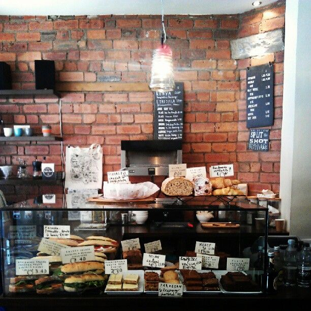 An amazing little coffee shop just around the corner from Leeds Station - visit Laynes Espresso.
