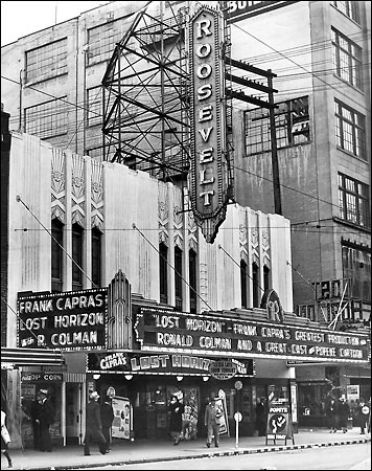 movie theater playing Lost Horizon Seattle history