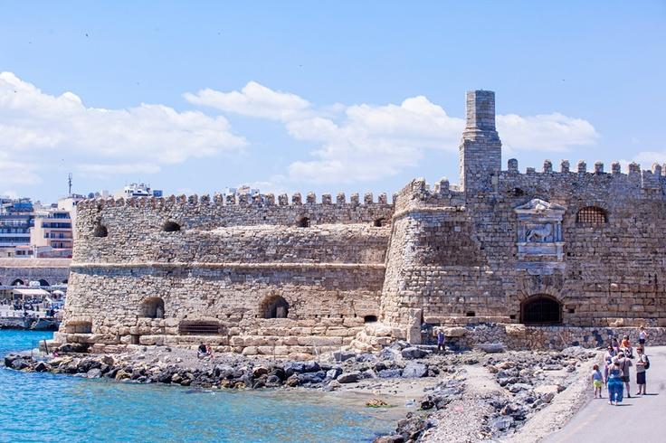The Koules Venetian port fortress  - www.galaxy-hotel.com