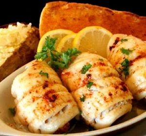 Mushroom-Stuffed Flounder Roll-Ups Recipe