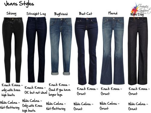 jeans styles knock knees