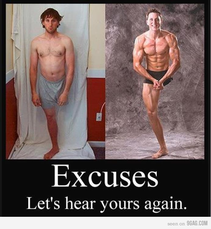 there is no excuse