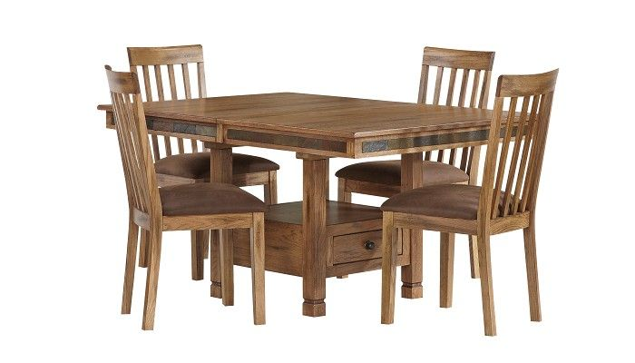 Slumberland Furniture Sedona Collection Rustic Dining Set Slumberland Furniture Stores And
