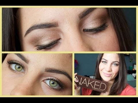 Urban Decay Naked Daytime Eyeshadow Tutorial